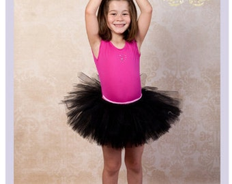 Black Tutu Flower Girl Dress Little Girls Black Dress Black Tutu Dress Black Flowergirl Dress 2 3 4 Year