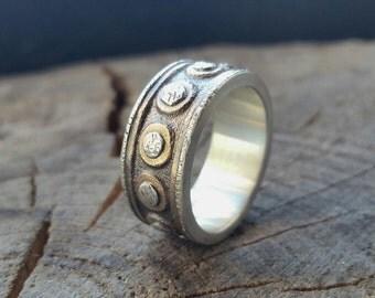 Antique hardware ring