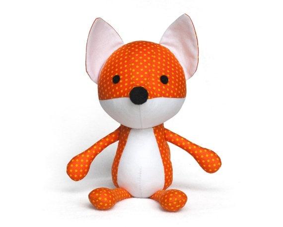 Softie fox sewing pattern