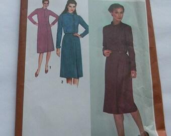 Vintage Simplicity Misses Dress,Pattern N9702, Uncut, Size14