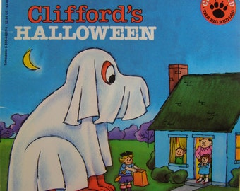 Clifford's Halloween by Norman Bridwell, vintage children's book