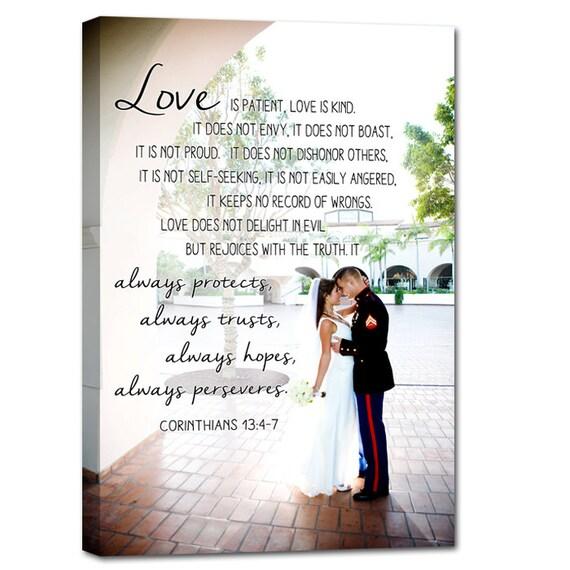 Personalised Wedding Gift For Husband : Personalized Gift for Husband Wedding Photo canvas Art Personalized ...