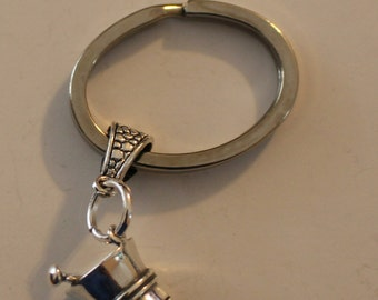 Sterling 3D PHARMACIST Key Ring, Keyring, Key Chain - Profession
