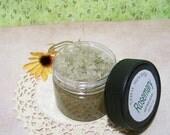 Rosemary Exfoliating Foot Scrub, Herbal Salt Scrub, Vegan Salt Scrub, Foot Care 7 oz