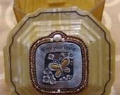 Free Your Spirit Antique Powder Jar