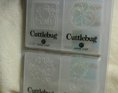 Embossing Folders...4 Piece Set of Brand New Cute Flowers Embossing Folders