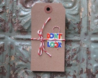 30 MEDIUM Kraft Tags With Reinforced Hole, Rustic, Woodsy, Natural for Rustic Weddings