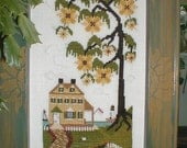 Summer Hill Counted Cross Stitch Pattern