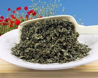 Organic Dried Red Raspberry Leaf, Herb, Caffeine-free, Herb Tea, Culinary, Bodycare Supply, 2 oz