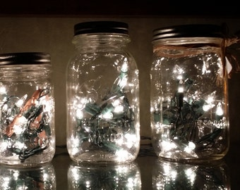 Mason Jar Accent Light
