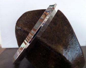 Heavy M/W Sterling Bracelet