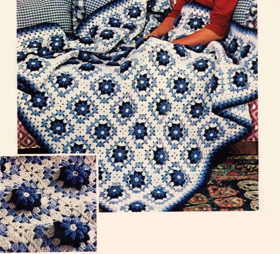 Crochet Afghan Pattern Wedding Gift : Crochet Afghan Pattern Afghan Crochet Pattern Motif Crochet