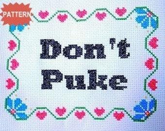 PDF/JPEG Don't Puke (Pattern)