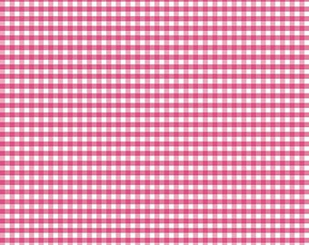 Small Pink Gingham C440-70 from Riley Blake Fabrics - on sale