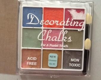 Decorating Chalks Glimmer Kit 2