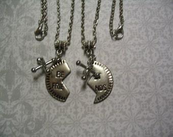 Best Friend Nostalgia Gift Jax Necklaces Childhood Friendship Sisters