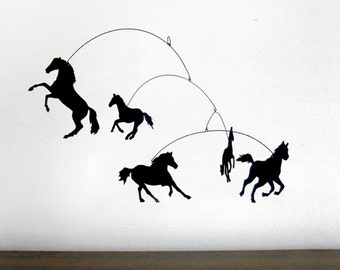 Hanging Mobile | HOLD YER HORSES
