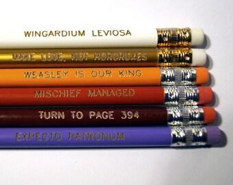 PRE-ORDER Wizard Quotes Pencil Set Ships 11/23/16
