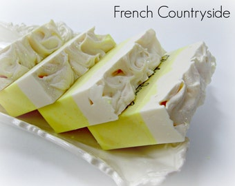 Abbey James French Countryside Gourmet Soap, handmade soap, artisan soap