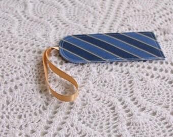 Blue Regimental - Luggage Tag