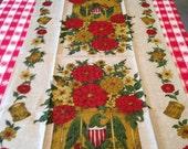 Vintage Linen Dish Towel