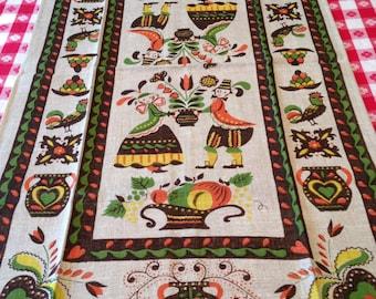 Vintage Linen Towel