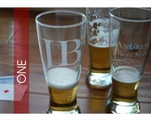 ONE Custom Etched Pilsners
