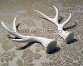 Unpainted Medium Antlers