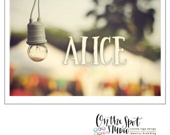 Alice Hand Drawn Font by OTSS
