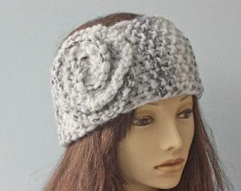 Head Warmer Knitting Pattern : Ear muffs Etsy