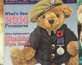 Teddy Bear and Friends Magazine April 2014 Issue