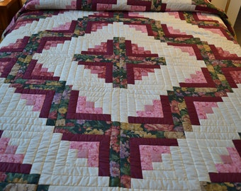 Hand Quilted Amish Made Quilt