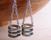 Chandelier Dangle Earrings Long Hardware Jewelry Industrial Eco Friendly Earrings