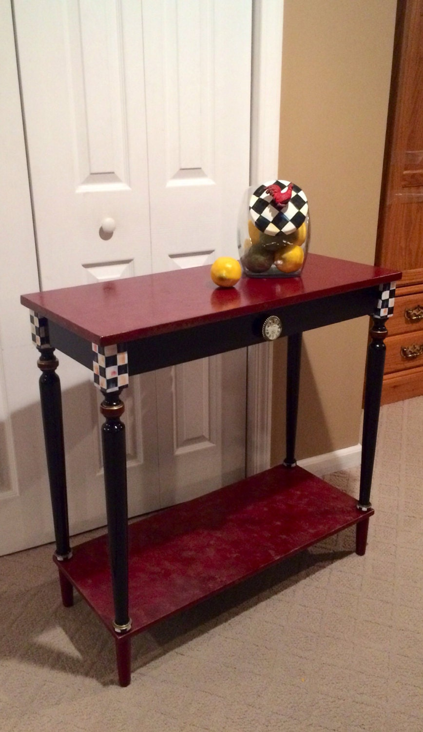 Whimsical Painted Furniture Hand Painted Console Or Sofa