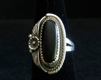 Black Onyx Vintage Southwestern ring