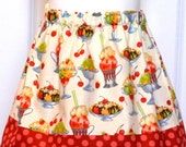 The Olivia Skirt - Ice Cream Sundae - sizes 1 through 5