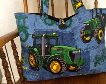TRACTOR TOTE