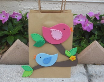 Sweet Birds Party Favor Bag