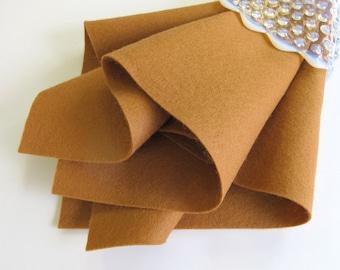 Cinnamon Felt, Pure Wool, Doll Skin Supply, Felt Pattern Supply, Waldorf Crafts, Washable Felt, Flesh Felt, Doll Fabric, Doll Parts