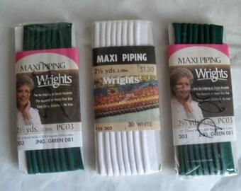 Piping Sewing Supplies NOS