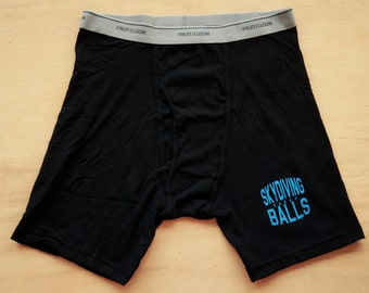 Men's Boxer Briefs - Skydiving Takes Balls