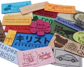 Personalized Ultrasuede Brand Fabric Custom Sew In Clothing Labels