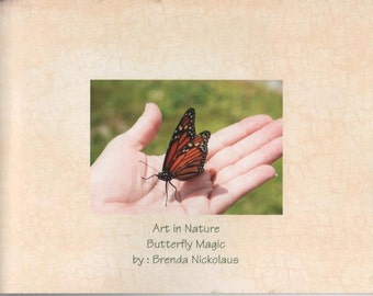 butterfly book, inspirational, magical, nature