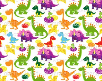 Dino Medley MLP Exclusive Jersey Knit Cotton/Spandex fabric by the yard
