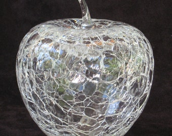 Handblown Art Glass Apple