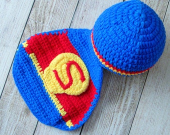Handmade kids superhero hat Etsy