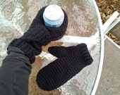 Can Cozy Mitt pair,  Custom made to order.  Good for left or right handed.