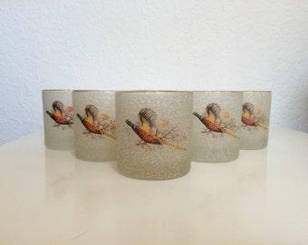 Textured Pheasant Tumblers