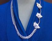 Long Ginkgo Leaf Necklace