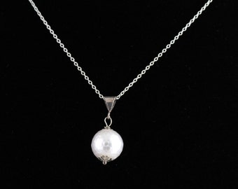 Faceted Pearl Pendant. Listing 211825164